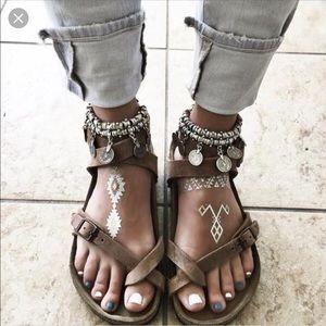 Birkenstock Yara Oiled Leather Sandals